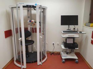Диагностичен бодиплетизмограф в медицински център INSPIRО